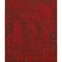 "Kenneth Mink Spectrum Mod Heriz Red 7'10"" x 10'10"" Area Rug"