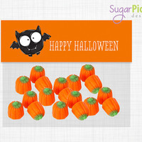 Halloween Goodie Bag Toppers, Goodie Bag Topper, Loot Bag Label, Halloween Printable, Halloween Treat Bag