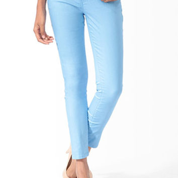 Ankle Length Denim Skinny Jeans