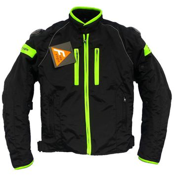 High quality have protect motorcycle off-road with removable cotton liner jacket/racing cycling oxford windproof warm jakcet