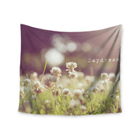 "Angie Turner ""Daydream"" Floral Green Wall Tapestry"