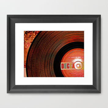 Grooves Framed Art Print by Jensen Merrell Designs
