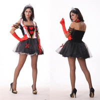 Queen Cosplay Anime Cosplay Apparel Holloween Costume [9211522372]