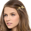 Shooting Star Gold Hair Clip