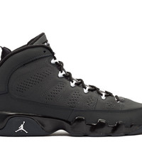 "air jordan 9 retro bg (gs) ""anthracite"""