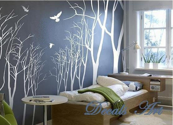 Full Wall Mural Decals: Vinyl Wall Sticker- Wall From DecalsArt On Etsy