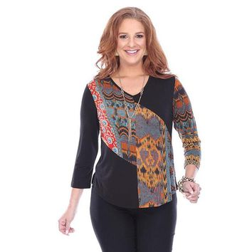 Thea Hi-Lo Top by Parsley and Sage