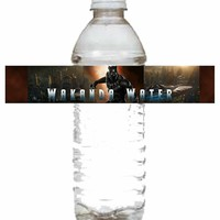 Wakanda Water Water Bottle