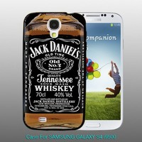 Jack daniel whiskey - design for Samsung Galaxy S4 Black case