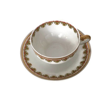 Theodore Haviland Teacup, Limoges France Teacup, Vintage Teacup