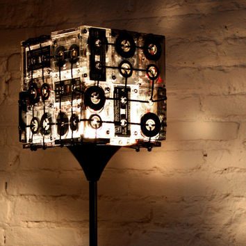 Street Market — Cassette Tapes Floor Lamp by Ooo My Design