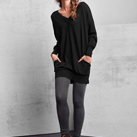Double V-neck Tunic Sweater - A Kiss of Cashmere - Victoria's Secret