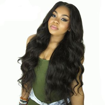Luxurious Lace Front Human Hair Wigs