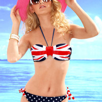 WowDresses — Unique Halter Flag Swimwear