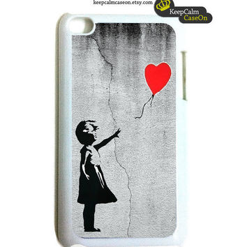 iPod Touch Case - iPod Touch 4G Case - Balloon Girl iTouch Case Snap On Case