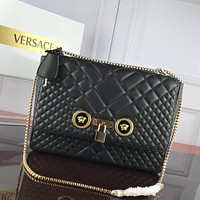 Top Quality Versace Women Leather Tote Bag Shoulder Bag Messenger Bag Shopping Bag