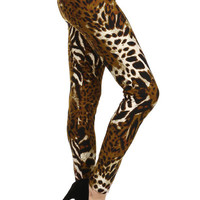 Leopard Adult Leggings