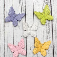 Girls bedroom decor // butterfly theme decor // Choose your colors // nursery decor // pastel decor // pastel girls room // pastel bedroom