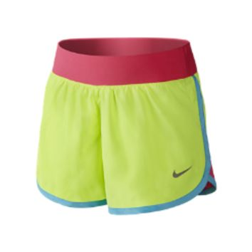 Nike Tempo Rival Preschool Girls' Shorts Size 6X (Green)
