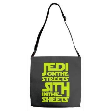 Jedi On The Streets Sith In The Sheets Adjustable Strap Totes
