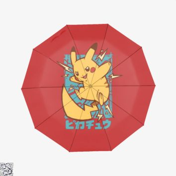 Pikachu Electricity, Pokemon Umbrella