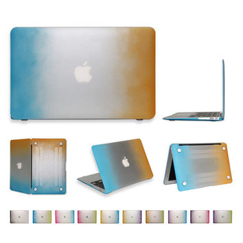 For Apple Macbook 11 Air Case Rainbow Cover for Mac book pro 13 retina 11.6 12 13.3 15.4 inch laptop hard matte case
