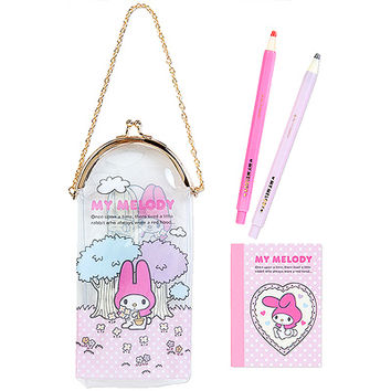 Buy Sanrio My Melody Stationery Set in Vinyl Clasp Pouch at ARTBOX