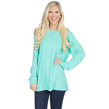 Slouchy Tee in Seafoam by Lauren James - FINAL SALE