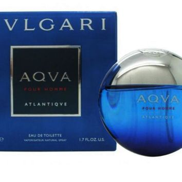 AQVA ATLANTIQUE Pour Homme for Men by Bvlgari EDT Spray 3.4 oz