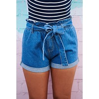 Breath Of Fresh Air Denim Shorts (Medium Wash)