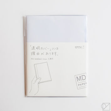 MD Notebook A6 Clear Cover