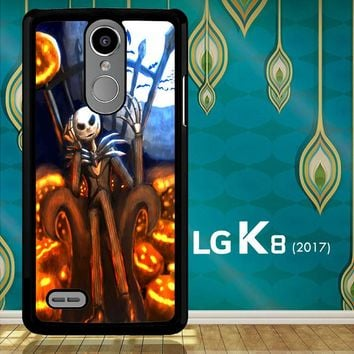 Nightmare Before Christmas Jack Skellington V1947 LG K8 2017 / LG Aristo / LG Risio 2 / LG Fortune / LG Phoenix 3  Case