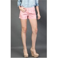 11880MW064 Pink Pastel Shorts and Womens Fashion Clothing & Shoes - Make Me Chic