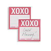 XOXO Sticky Notes | Desk-organization | Accessories | Z Gallerie