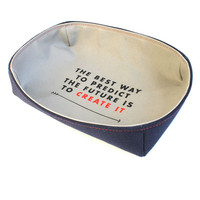Predict the Future Accessories Tray - Navy