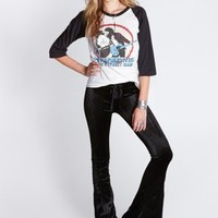 Wasteland Pants - ShopWasteland.com - Lip Service Crushed Velvet Bells