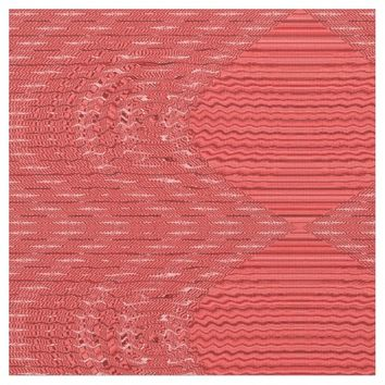 Modern Red Pattern Fabric