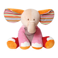 """""""Gaby"""" Giant Stuffed Elephant - Geared for Imagination - Multi colors"""