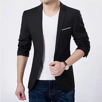 Men Suits Jacket Casaco Terno Masculino Suit Cardigan Jaqueta Wedding Suits Slim Jacket