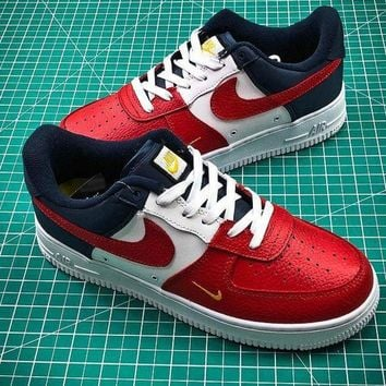 PEAP2Q Nike Air Force 1 Low Independence Day AF1 Red White Blue Sport Shoes