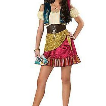 Teen Glamor Gypsy Costume