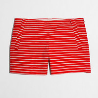 "Factory 5"" printed stretch chino short - Shorts - FactoryWomen's New Arrivals - J.Crew Factory"
