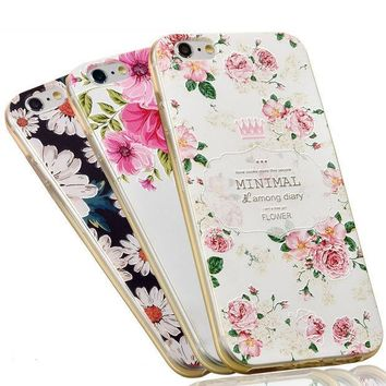 ICIKHTG OPAL FERRIE - 3D Embossing Soft Silicone Case