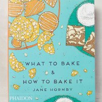 What To Bake & How To Bake It by Anthropologie in Blue Motif Size: One Size Gifts
