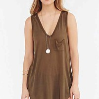 Truly Madly Deeply Voop Pocket Tank Top