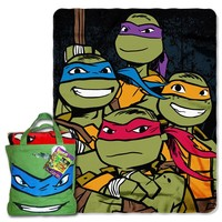 Teenage Mutant Ninja Turtles Fighters 2-pc. Throw & Canvas Tote Set