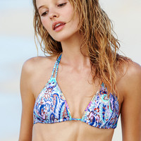 The Embroidered Teeny Triangle Top - Victoria's Secret