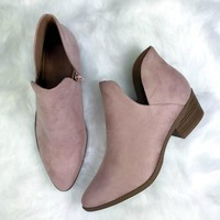 Georgetown Mauve Booties