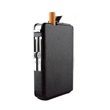 OFTEN Automatic Ejection Butane Cigarette Lighter Case Box Holder Windproof Dispenser