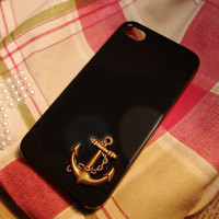 Black Friday sale Simple style Bronze  Anchor iphone by DreamSupin